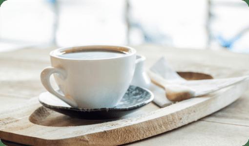 コーヒータイム 本格レギュラーコーヒーをお楽しみいただけます